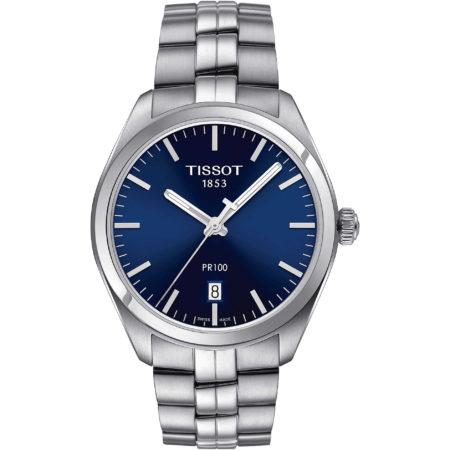 blue elegant watch