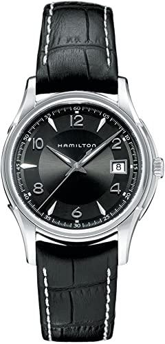 black elegant men's watch