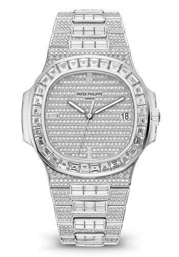 Patek Philippe Nautilus 5719-10G - diamond pavers