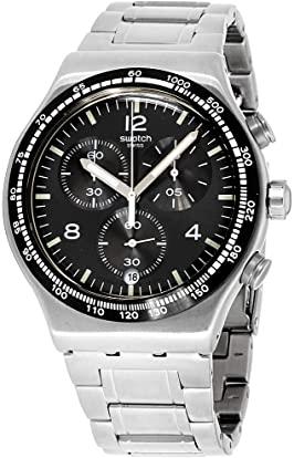 men's steel watches 200 dollars - Swatch Chronograph