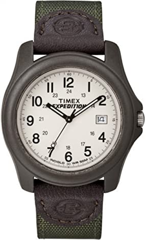 timex expedition white